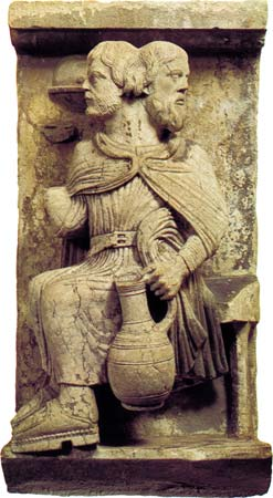 Janus god Sculpture